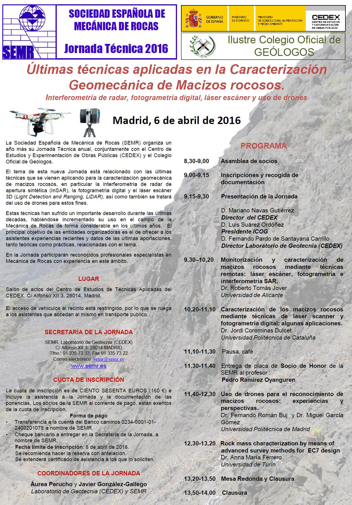 cartel Jornada 2016