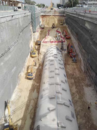 Túnel al descubierto