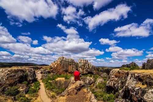Paisaje kárstico del Cerro del Hierro